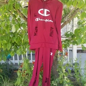 Champion womans size large outfit